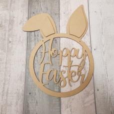 3mm Hoppy Easter Bunny Head  Easter