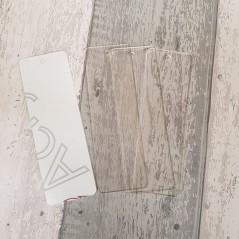 3mm perspex bookmarks Acrylic Keyrings / Tags