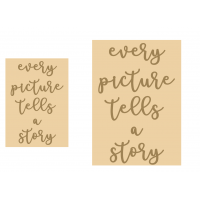 4mm words - every picture tells a story