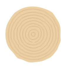 3mm mdf Etched Log Slice Style 3 (Pack of 5) Mother's Day