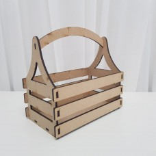 4mm mdf Basket Easter