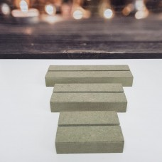 Mdf Stand for Acrylic Plaques - STAND ONLY Wooden Blocks, Tea Lights and Stacking Block Sets