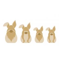 18mm 3D Gonk / Bunny  Easter
