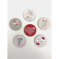 3mm Valentine's Tokens