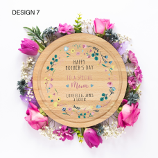 Round Shaped Mother's Day Board Mother's Day