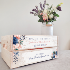 Printed Crate - Mother's Day Easter