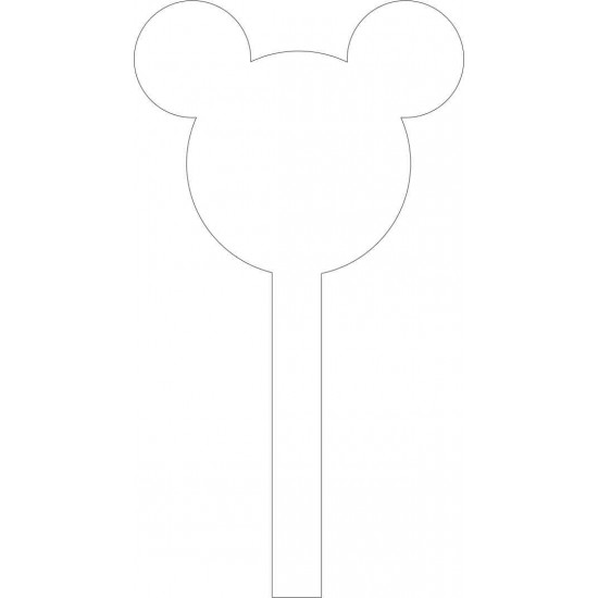 Mr Mouse Acrylic Cake Topper Cake Toppers