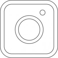 Acrylic Instagram Icon (pack of 10)