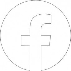 Acrylic Facebook Icon (pack of 5) ACRYLIC ITEMS