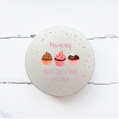 Personalised Printed Tin - Deserve A Treat Personalised and Bespoke
