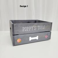 Printed Grey Crate - Pets