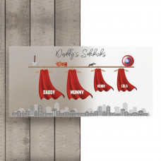 Printed Cape Plaque Fathers Day
