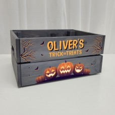 Halloween Crates - choose from options Personalised and Bespoke