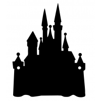 Castle Door Sign with or without Stand Offs