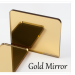 3mm Gold Mirror Acrylic (+£0.20)