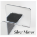 3mm Silver Mirror Acrylic (+£0.07)
