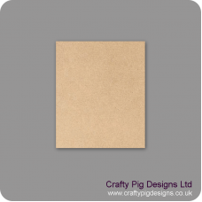 3mm mdf 150mm x 180mm Size Blank Plaque Basic Plaque Shapes