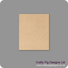 3mm mdf 150mm x 180mm Size Blank Plaque