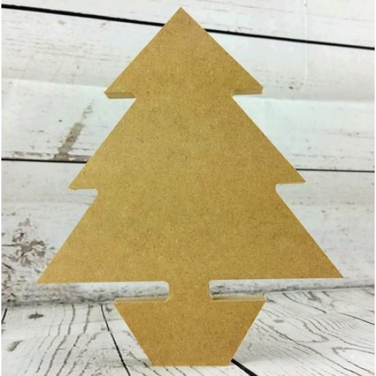 18mm Christmas Tree With Pot 18mm MDF Christmas