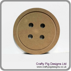 18mm MDF Button 18mm MDF Craft Shapes