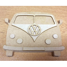18mm  Campervan (180mm high x 230mm wide) 18mm MDF Craft Shapes