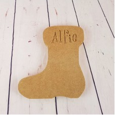 18mm Engraved Stocking Personalised and Bespoke