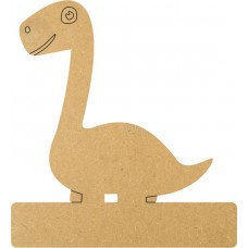 18mm Engraved Long Neck Dinosaur On Base 18mm MDF Engraved Craft Shapes