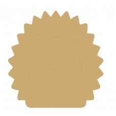 18mm Engraved Hedgehog 200mm 18mm MDF Engraved Craft Shapes