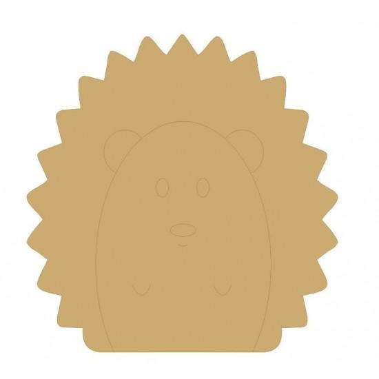 18mm Engraved Hedgehog 200mm 18mm MDF Engraved Craft Shapes