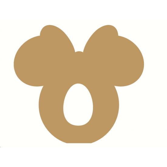 18mm Lady Mouse head Shape Kinder or Cadbury Egg Holder Easter