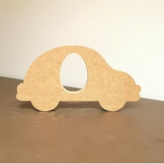 18mm Car Shape Kinder or Cadbury Egg Holder (200mm wide) Easter