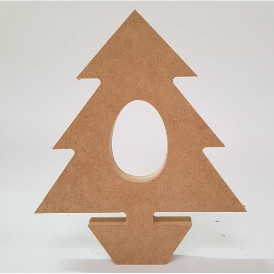 18mm Xmas Tree Kinder or Cadbury Egg Holder 18mm MDF Christmas