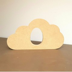 18mm Cloud Shape Kinder or Cadbury Egg Holder (200mm wide) Easter