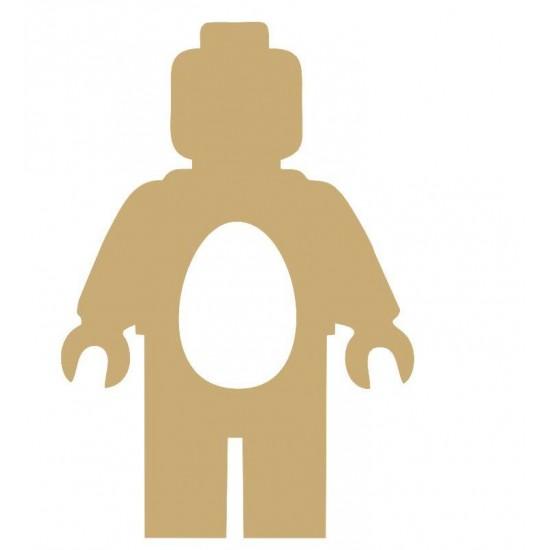 18mm Lego Man Shape Kinder or Cadbury Egg Holder Easter