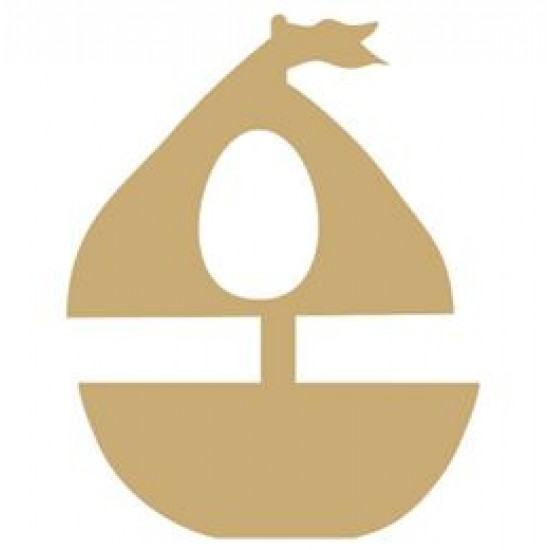18mm Sailboat Shape Kinder or Cadbury Egg Holder Easter