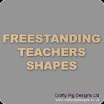 18mm MDF Teacher Gift Craft Shapes