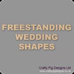 18mm MDF Wedding Craft Shapes & Items