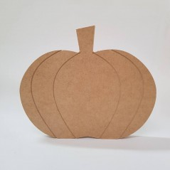 18mm Engraved Pumpkin Shape