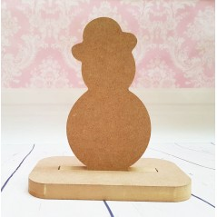 18mm Bowler Hat Snowman Shape Stocking Hanger Christmas Shapes
