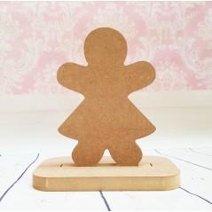 18mm Gingerbread Girl Shape Stocking Hanger Christmas Shapes