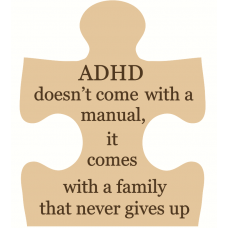 18mm Engraved Jigsaw - ADHD - doesn't come with a manual 18mm MDF Engraved Craft Shapes