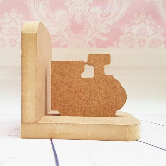 18mm Train Bookend Set 18mm MDF Bookends