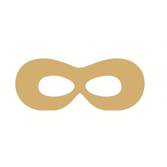 18mm Superhero Eye Mask 18mm MDF Craft Shapes