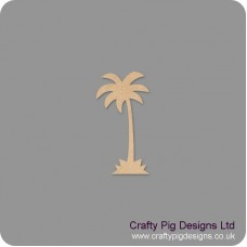 18mm Palm Tree Shape 18mm MDF Craft Shapes