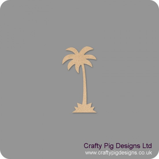 18mm Palm Tree Shape 18mm MDF Craft Shapes