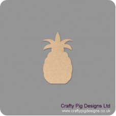 18mm Pineapple Shape 18mm MDF Craft Shapes