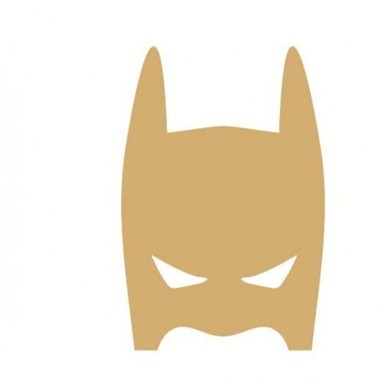 18mm Superhero Full Mask 18mm MDF Craft Shapes