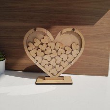 20cm Heart Shaped Drop Box Wedding