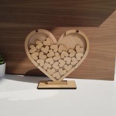 20cm Heart Shaped Drop Box Wedding