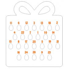 18mm Gift Box Kinder or Cadbury Egg Advent Calendar Advent Calendars